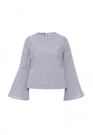 Блуза Compania Fantastica. Цвет: синий