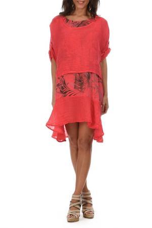 Платье Lila Rose. Цвет: красный