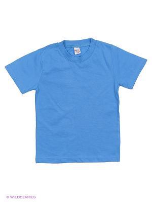 Футболка Bonito kids. Цвет: голубой, сиреневый