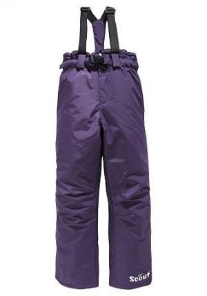 Лыжные брюки, SCOUT. Цвет: лиловый
