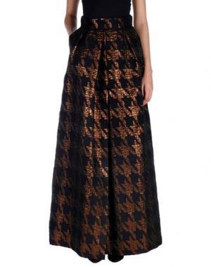 Длинная юбка MARTIN GRANT. Цвет: черный