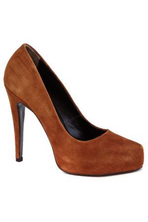 Туфли Elena. Цвет: светло-коричневый