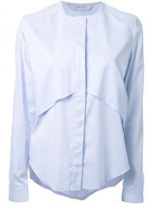 Рубашка Mobius Dion Lee. Цвет: синий