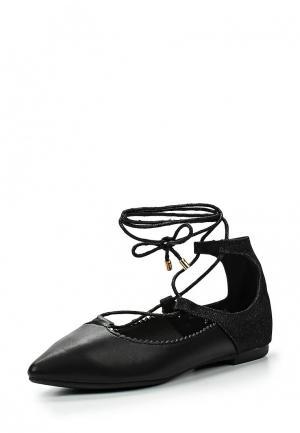 Туфли Girlhood. Цвет: черный