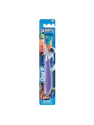 Зубная щётка Oral-B Pro Expert Stages 3 (5-7 лет) мягкая 1 шт. ORAL_B. Цвет: фиолетовый