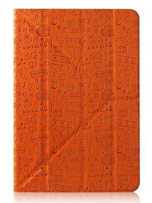 Чехол, Life is универсальный для планшета 7 CANYON. Цвет: оранжевый