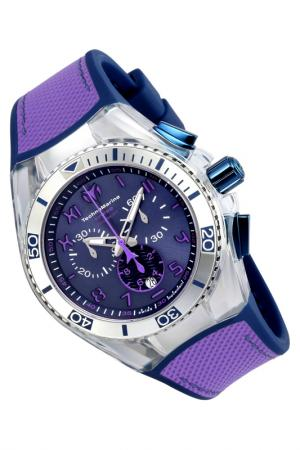 Watch TechnoMarine. Цвет: silver, blue ,purple