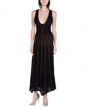 Длинное платье AKEP. Цвет: черный
