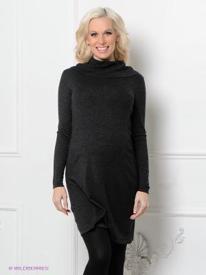 Платье Isabella Oliver. Цвет: антрацитовый