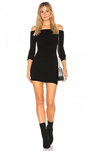 Платье binx Obey. Цвет: черный