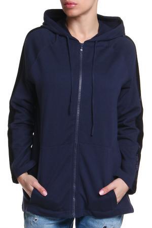 Куртка спортивная Ikiler. Цвет: синий