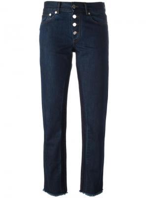 Прямые джинсы Each X Other. Цвет: синий