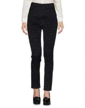 Повседневные брюки BEVZA. Цвет: черный
