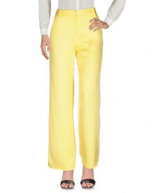 Повседневные брюки NEW YORK INDUSTRIE. Цвет: желтый