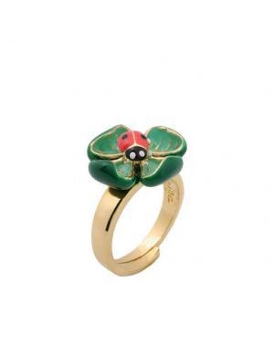 Кольцо LA HORMIGA. Цвет: зеленый