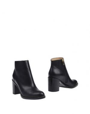 Полусапоги и высокие ботинки PAUL ANDREW. Цвет: черный