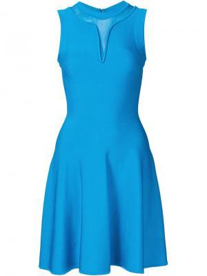 Расклешенное платье Issa. Цвет: синий