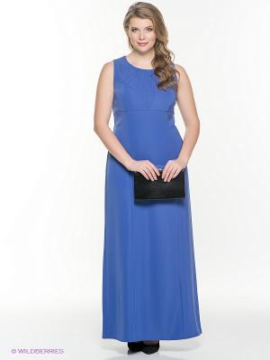 Платье Klimini. Цвет: синий