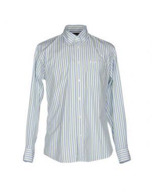 Pубашка FAÇONNABLE. Цвет: светло-зеленый
