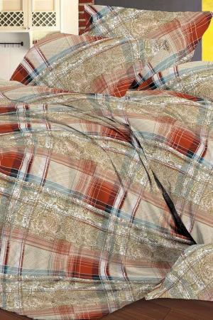 Постельное белье 2 сп, 70х70 СIOCCOLATO. Цвет: бежевый