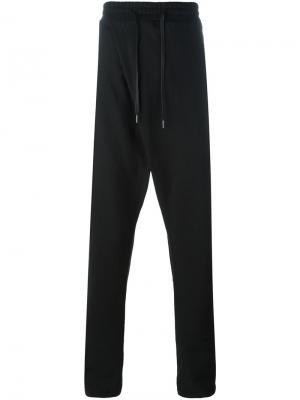 Свободные спортивные брюки-шаровары D.Gnak. Цвет: чёрный