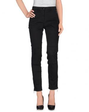 Повседневные брюки 22 MAGGIO BY MARIA GRAZIA SEVERI. Цвет: черный