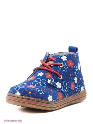 Ботинки Kapika. Цвет: синий