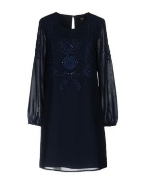 Короткое платье NIZA. Цвет: темно-синий
