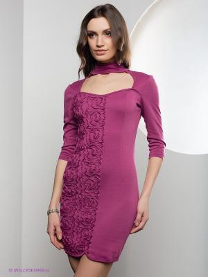 Платье SUGARLIFE. Цвет: лиловый