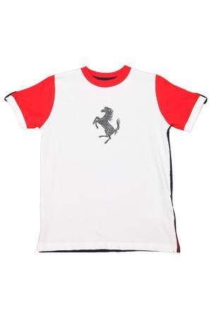 Футболка Ferrari. Цвет: синий