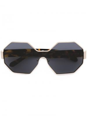 Star City sunglasses Karen Walker Eyewear. Цвет: металлический