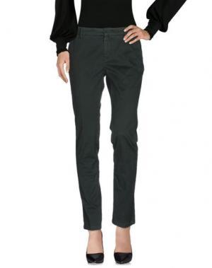 Повседневные брюки ROMANO RIDOLFI. Цвет: зеленый