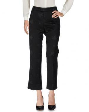 Повседневные брюки GIULIETTE BROWN. Цвет: черный