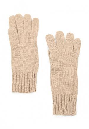 Перчатки Sela. Цвет: бежевый