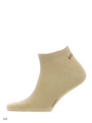 Носки, 3 пары Хох. Цвет: бежевый