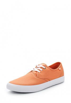 Кеды Quiksilver. Цвет: оранжевый