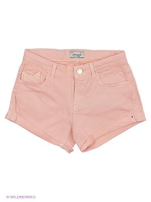 Шорты Mayoral. Цвет: бледно-розовый, персиковый, темно-бежевый