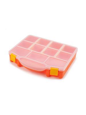 Ящик для хранения Altera Berossi. Цвет: прозрачный, оранжевый