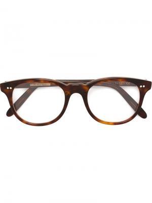 Солнцезащитные очки 1222 Cutler & Gross. Цвет: коричневый