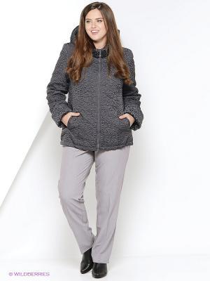 Куртка утепленная Socrat. Цвет: темно-серый