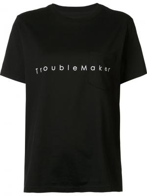 Футболка Trouble Maker The Soloist. Цвет: чёрный