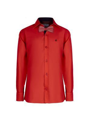 Рубашка ROMA design. Цвет: бордовый