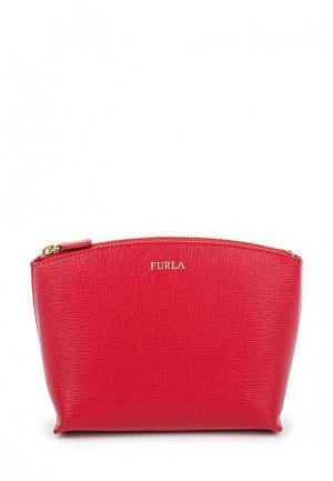 Косметичка Furla. Цвет: красный