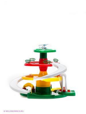 Игровая парковка AVC. Цвет: зеленый, красный, белый