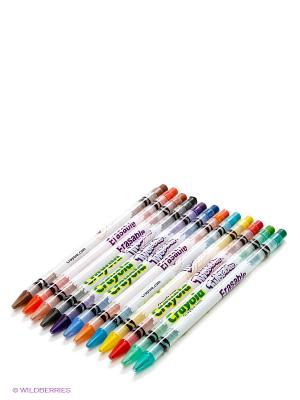 Набор выкручивающихся карандашей Crayola. Цвет: зеленый, красный