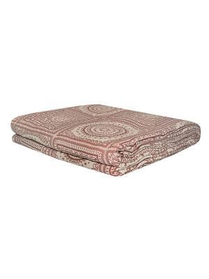 Покрывало Мексика розовый200*230 100% хлопок. ARLONI. Цвет: темно-бежевый, розовый