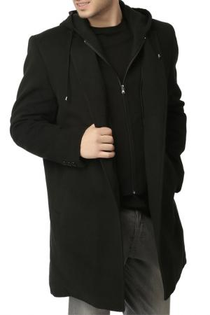 Пальто Dewberry. Цвет: черный