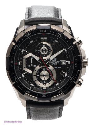 Часы EDIFICE EFR-539L-1A CASIO. Цвет: черный
