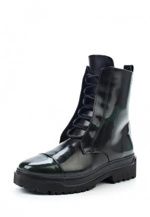 Ботинки Poblenou. Цвет: зеленый