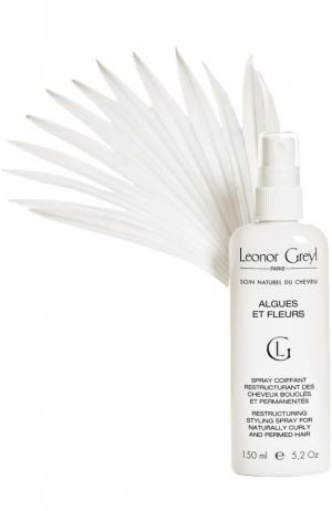 Спрей для укладки с экстрактом водорослей и цветов Leonor Greyl. Цвет: бесцветный